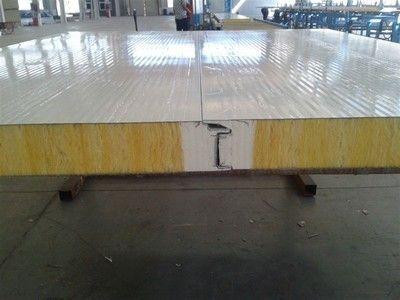 彩钢聚氨酯岩棉封边板应用